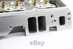 Chevy Sbc 350 200cc 64cc Straight Bare Aluminum Cylinder Head