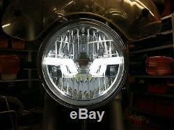 Chrom LED Scheinwerfer BMW R 850 R R 1150 R R1150R R850R clear LED headlight