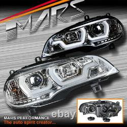 Clear LED DRL projector Head Lights for BMW X-Series X5 E70 07-10 Pre LCI 07-10