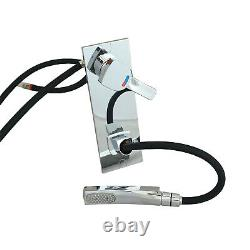 Comet Caravan Shower Mixer Wall Water Tap 12V Microswitch Pull Out Shower Head