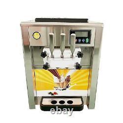 Commercial Triple Head Ice Cream Machine FREE UK POSTAGE