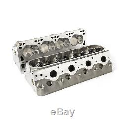 Complete Aluminum Cylinder Heads Chevy LS3 250cc 64cc. 625 Lift
