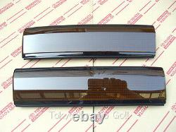 Corolla CP Coupe AE86 Head Lamp Eye Brow Cover Garnish set NEW Genuine OEM Parts