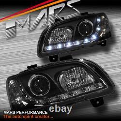DRL LED Projector Head Lights for Holden HSV VE Commodore SV6 SV8 SS-V Series 1