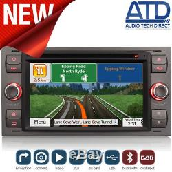 Direct Fit Head Unit GPS Radio Sat-Nav DVD Bluetooth Stereo For Ford Transit Mk7