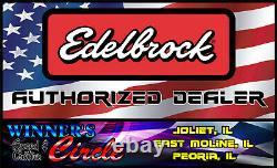 Edelbrock 5089 SB Chevy E-Street 64cc Cylinder Heads