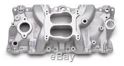 Edelbrock Performer Intake Manifold 2104 Chevy SBC Fits 87-95 350 TBI Heads
