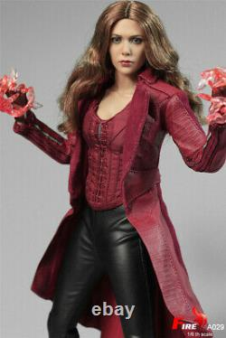 FIRE A029 1/6 Scarlet Witch 3.0 Female Action Figure Head Body Suit Accessories