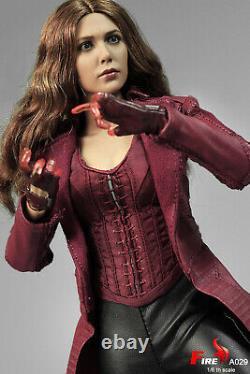 FIRE A029 1/6 Scarlet Witch 3.0 Wanda Maximoff Avengers Battle Solider Figure