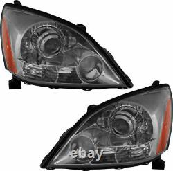FITS LEXUS GX470 With SPORT 2003-2009 HEADLIGHTS HEAD LAMPS LIGHTS FRONT PAIR NEW
