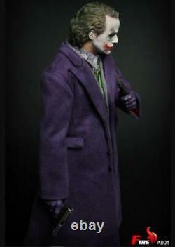 Fire 1/6 Joker 12'' Figure A001 Batman The Dark Knight TWO HEADS USA IN STOCK