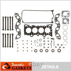 Fits 92-95 Honda Civic 1.5L 1.6L SOHC VTEC Head Gasket Set Bolts D15Z1 D16Z6