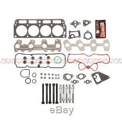 Fits 98-02 Chevrolet S10 Cavalier GMC Sunfire Hombre 2.2L Head Gasket Set Bolts