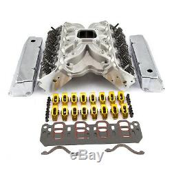 Fits Ford 302 351C Cleveland Solid FT Cylinder Head Top End Engine Combo Kit