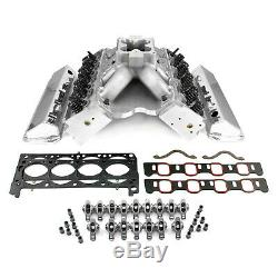 Fits Ford 351W 9.5 Deck Fusion Manifold Hyd FT Cylinder Head Top End Engine