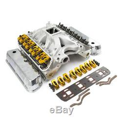 Fits Ford 351W Windsor Hyd Roller 190cc Cylinder Head Top End Engine Combo Kit