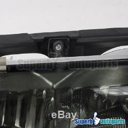 For 1994-1996 Chevy Impala Smoke Headlights Head Lamp with Corner Lights