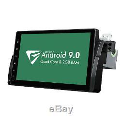 For BMW E46 Android 9.0 9Autoradio Player GPS SAT NAV Stereo 4G Radio Head Unit