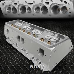 For Chevy Small Block 350 Sbc 200cc 68cc Straight Aluminum Bare Cylinder Head