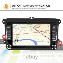 For VW Golf Mk5 Mk6 POLO Bluetooth Radio Sat-Nav GPS Andriod Player Head Unit