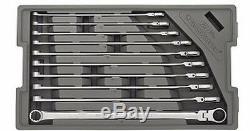 Gearwrench 10pc 120XP XL Ratcheting Flex Head Spline Wrench Set 10-19mm #86126