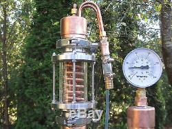 Gin or Vodka Infusion Still Nixon Stone Offset Head Reflux Water Cooled Parrot