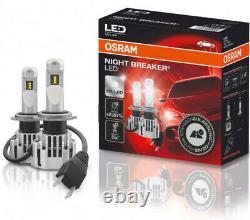 H7 LED Osram Night Breaker Led Profi-Set Auto Lampe Birne 12V 19W 64210DWNB