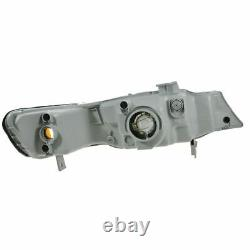 Headlights Headlamps Left & Right Pair Set NEW for 99-04 Honda Odyssey