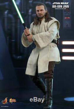 Hot Toys 1/6 Qui-Gon Jinn Figure Star Wars Episode I The Phantom Menace MMS525