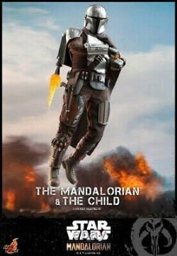 Hot Toys 1/6 TMS014 Star Wars The Mandalorian & The Child Collect Action Figure