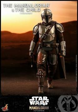Hot Toys 1/6 scale Mandalorian and The Child Collectible Set Figure TMS014