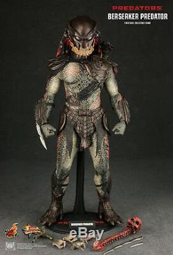 Hot Toys MMS 130 Predators Berserker Predator 14 inch Action Figure NEW