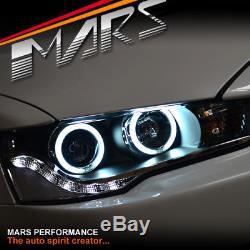 JDM Varis CCFL Angel Eyes DRL LED Head Lights for MITSUBISHI LANCER CJ CF 07-18
