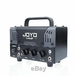 JOYO Zombie Bantamp Guitar Amplifier head 20w Tube 2 Channel Bluetooth New