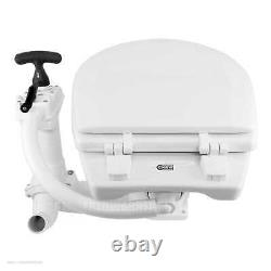 Jabsco 29090-5000 Marine Compact Toilet Boat Head Manual Twist N Lock