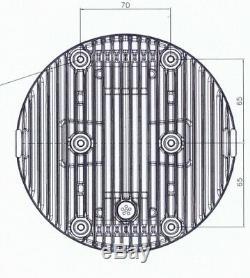 KOSO LED Hauptscheinwerfer THUNDERBOLT mit Standlicht, schwarz