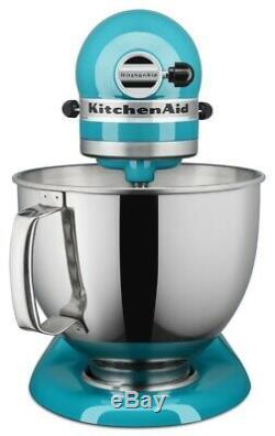 KitchenAid 5-Quart Artisan Tilt-Head Stand Mixer Ocean Drive