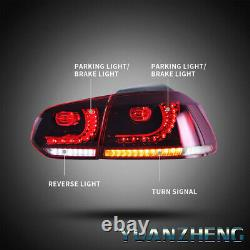 LED Headlights and Taillights For VW Golf 6 MK6 GTI/GTD 08-13 Front Rear Lamps