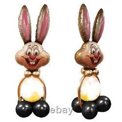 Large 150cm Balloon Easter Bunny DIY Kit 10 Balloons 1 Stuffing 1 Head