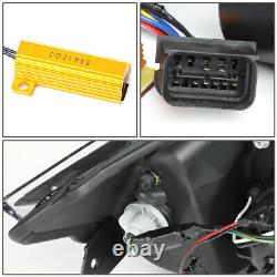 Led U-halo+turn Signalfor 09-12 Bmw 3-series E90 Projector Headlight Head Lamp