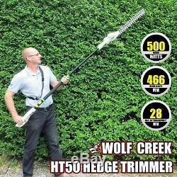 Long Reach Hedge Trimmer Telescopic Extendable Rotating Head electric 500 Watt