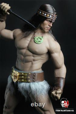 MR. TOYS MT2018-02 1/6 Conan Head WithClothes Set Arnold Version F 12TB Male Body
