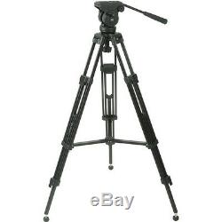 Magnus VT-3000 Tripod with Fluid Pan Head for Camera and Camcorder Photography