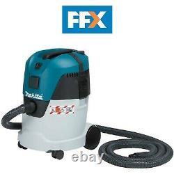 Makita VC2512L/2 240v Vacuum Cleaner Wet Dry Dust Extractor 23L Motor Head