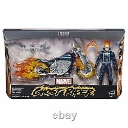 Marvel Legends GHOST RIDER withMOTORCYCLE ACTION FIGURE BOXED SET IN STOCK