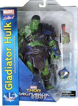 Marvel Select GLADIATOR HULK ACTION FIGURE (MOVIE VERSION) Thor Ragnarok