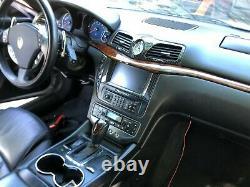 Maserati Grancabrio/granturismo Carbon Fiber Head Unit Infotainment Bezel