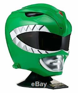 Mighty Morphin Power Rangers GREEN RANGER PROP REPLICA / WEARABLE HELMET