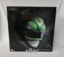 Mighty Morphin Power Rangers Legacy Green Ranger Helmet 11 Bandai In Stock