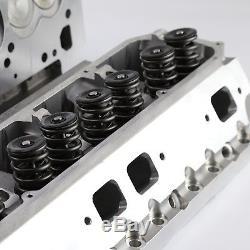 Mopar Chrysler BB 383 440 265cc 74cc Hydr-FT Complete Aluminum Cylinder Heads